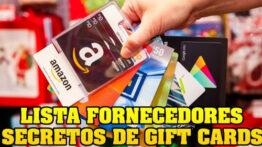 Fornecedores Secretos para Gift Cards funciona mesmo? Veja minha opinião!